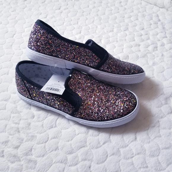 84b76319d18f Cat & Jack Shoes | Glitter Sneakers Girls Cat Jack Unicorn 4 | Poshmark